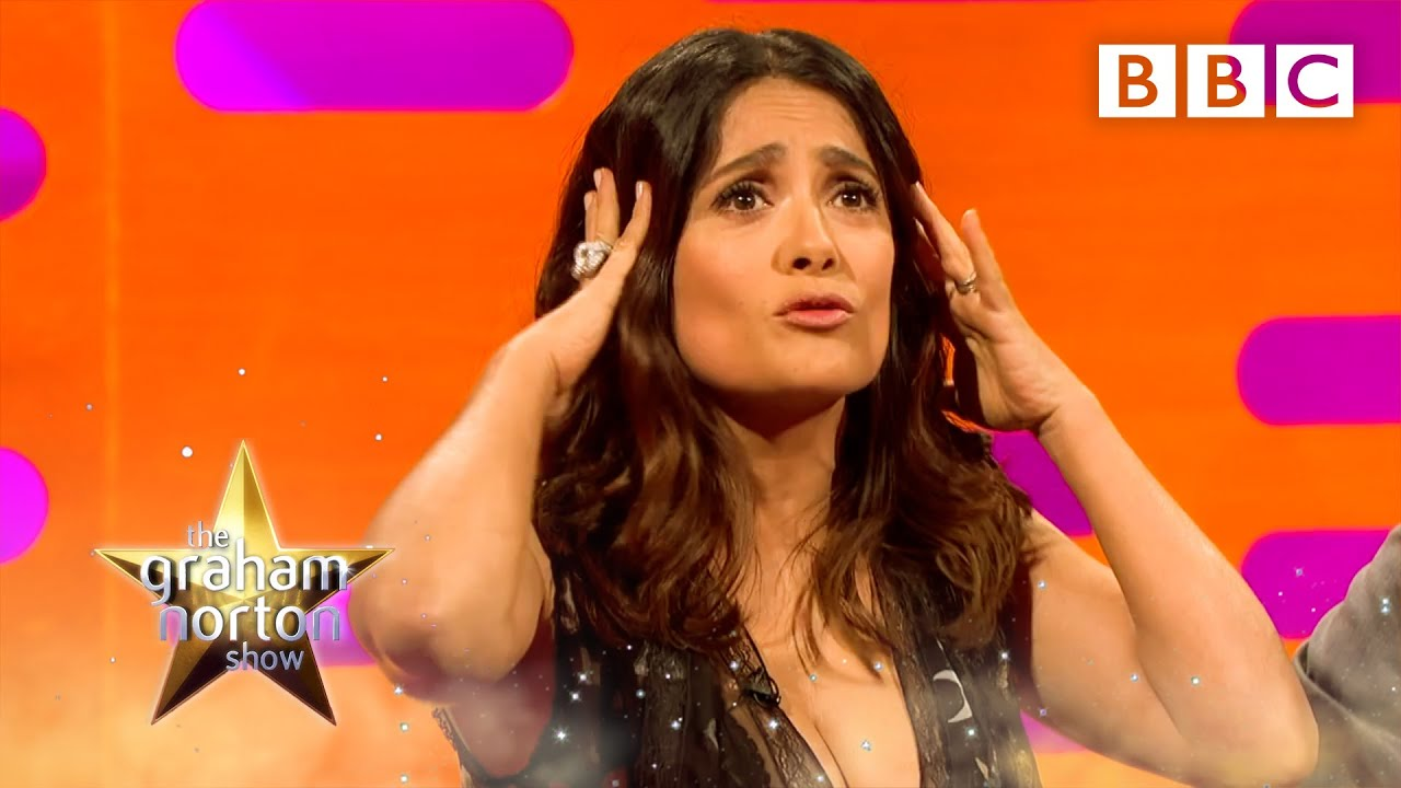 Salma Hayek Collects A Lot Of Animals The Graham Norton