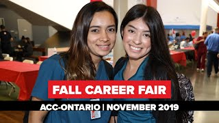 ACC-Ontario Career Fair: November 2019