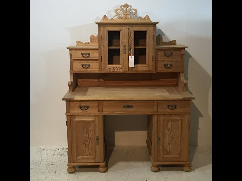 dating antique desks