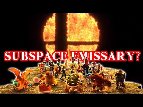 Super Smash Bros Switch with New Subspace Emissary?