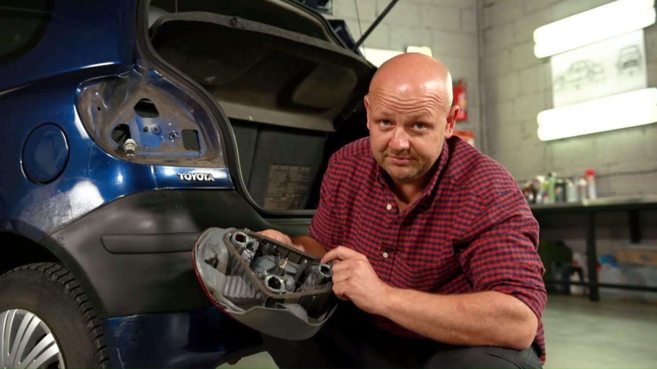 Samodzielna Naprawa Starych Lamp Samochodowych 101 Napraw Youtube