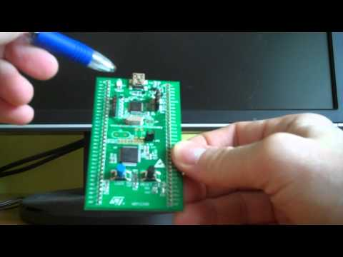 STM32F0-Discovery demo board review (preview) - YouTube