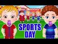 Baby Hazel Sports Day | Fun Game Videos By Baby Hazel Games