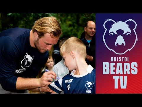 Players visit Wild Place Project's Bear Wood