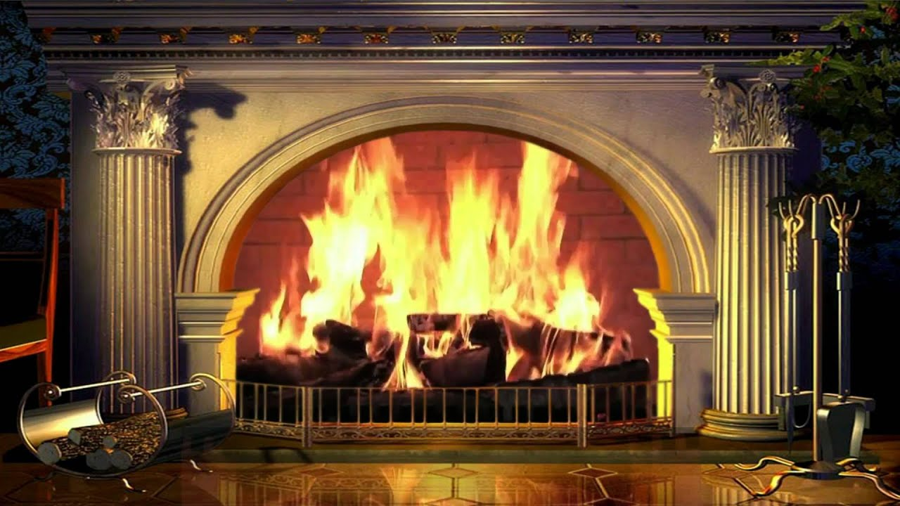 Live Moving Fall Wallpaper For Pc Beautiful Fireplace And Soft Crackling Fire 🎧 Belle