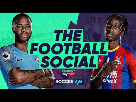 LIVE: Man City 2-3 Crystal Palace - Liverpool 4 Points Clear After City Defeat #TheFootballSocial