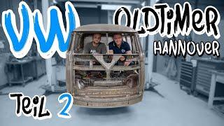 Die heiligen Hallen von VW Nutzfahrzeuge Oldtimer! - Bulli Restauration Teil 2 | Philipp Kaess |