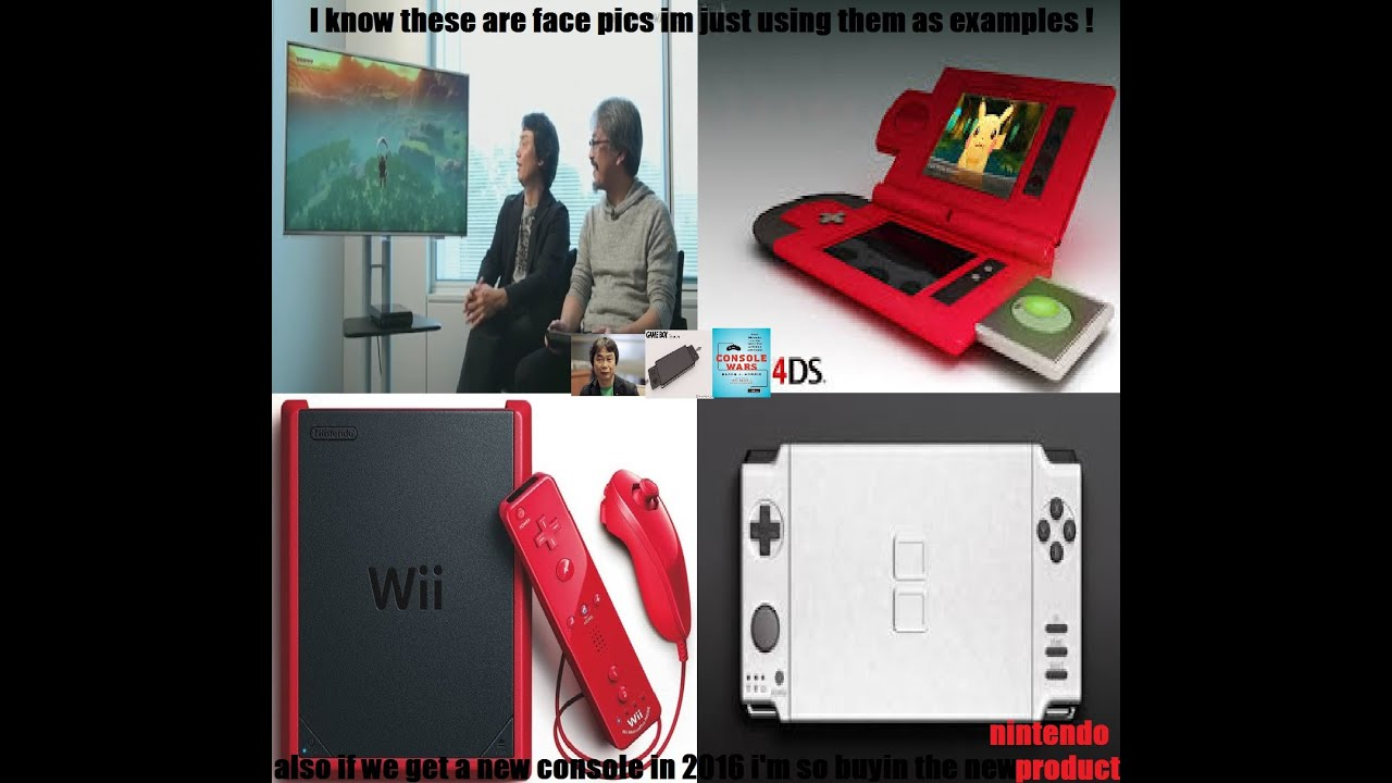 nintendo possibly reveals new console in development late 2015 2016