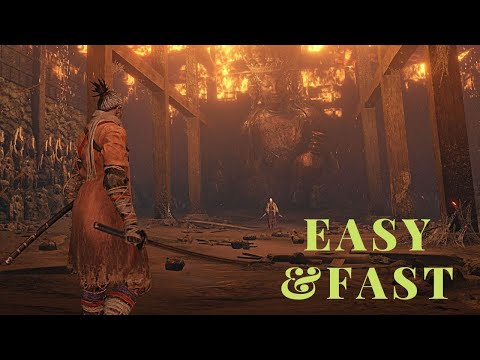 SEKIRO LADY BUTTERFLY NG+ EASY AND FAST KILL