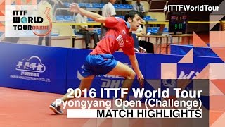 2016 Pyongyang Open Highlights: Xu Haidong vs Sadi Ismailov (R16)(Review all the highlights from the Xu Haidong vs Sadi Ismailov (R16) match from the 2016 Pyongyang Open Subscribe here for more official Table Tennis ..., 2016-07-01T18:16:51.000Z)