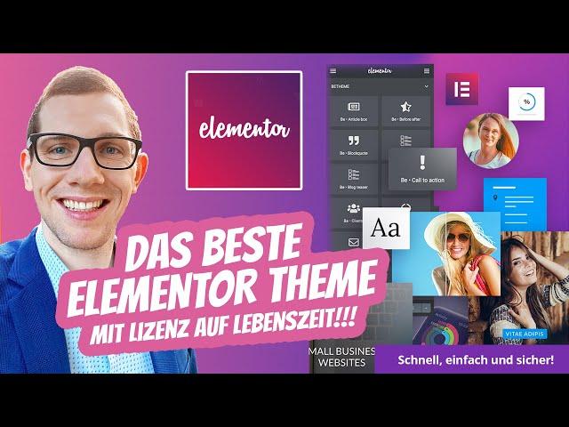 Das absolut beste Elementor Theme 2020 🥇 Betheme + Elementor + Slider Revolution