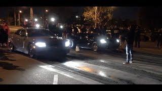 Hellcat Vs C7 Corvette $4,280 Street Race