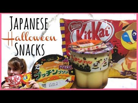 Download Tasting Japanese Halloween Snacks