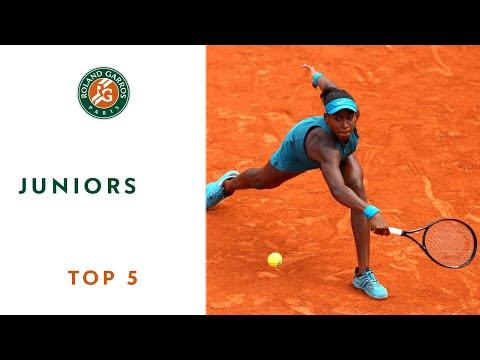 Juniors - TOP 5 | Roland Garros 2018