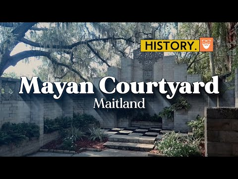 It LOOKS ancient. But is it? | Florida's Mayan Courtyard and Chapel | ChadGallivanter