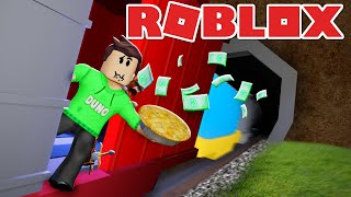 I SNOWED SOMEONES PIE IN ROBLOX... ES DIDN'T STOP WELL!