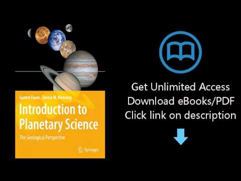 Download Introduction to Planetary Science: The Geological Perspective PDF