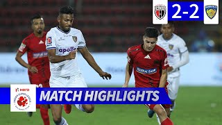 NorthEast United FC 2-2 Chennaiyin FC - Match 90 Highlights | Hero ISL 2019-20