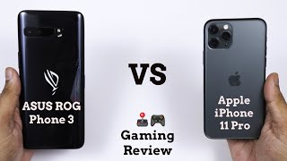 ASUS ROG Phone 3 vs Apple iPhone 11 Pro | Ultimate Gaming Champion