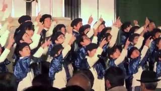 神戸ルミナリエの点灯式より(2015年12月4日撮影)