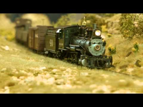 Modelling Railway Train Track Plans -Remarkable Rocky Mountains Model Railroad Narrow Gauge HO Scale