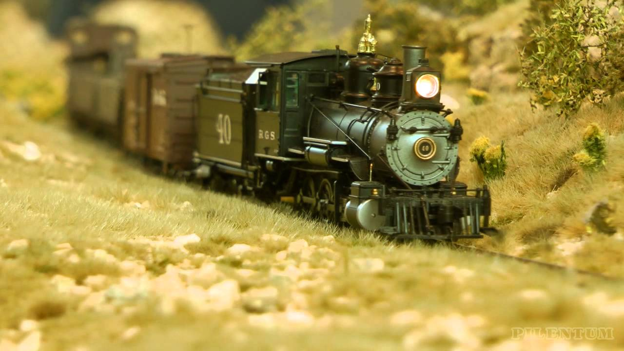 Rocky Mountains Model Railroad Narrow Gauge Ho Scale Youtube