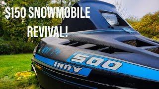 $150 1990 Polaris Indy 500 Build!!!