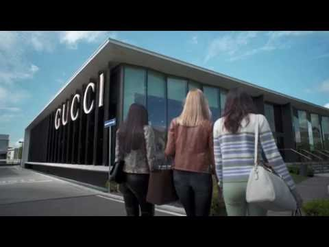 Luxury outlet shopping experience at The Mall - The Gucci store
