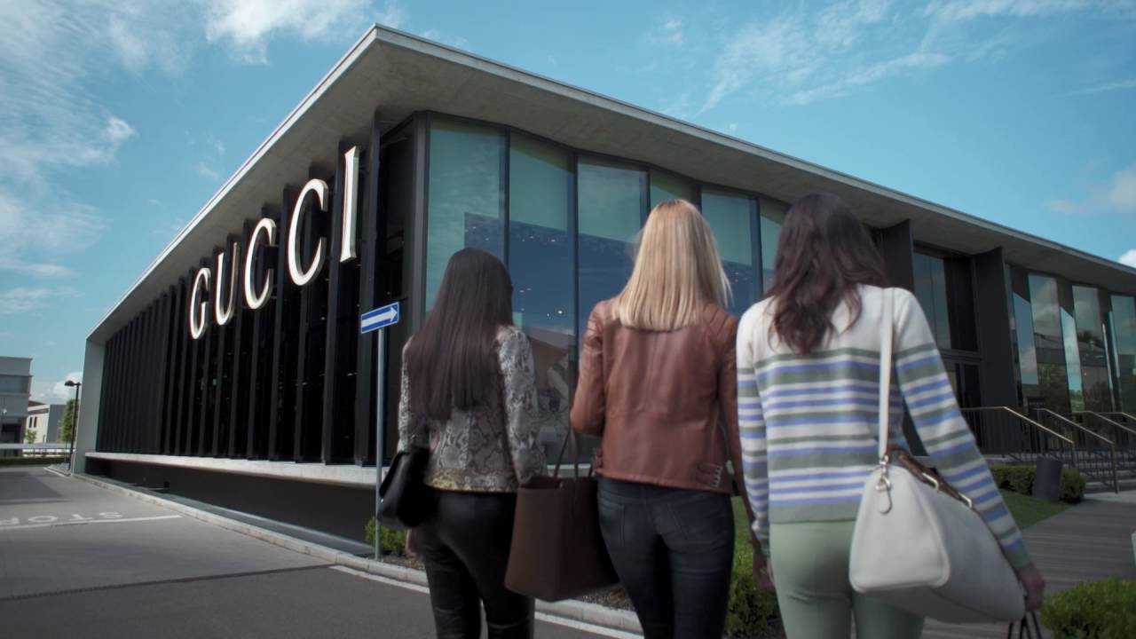 afc02d74c99 Luxury outlet shopping experience at The Mall - The Gucci store ...
