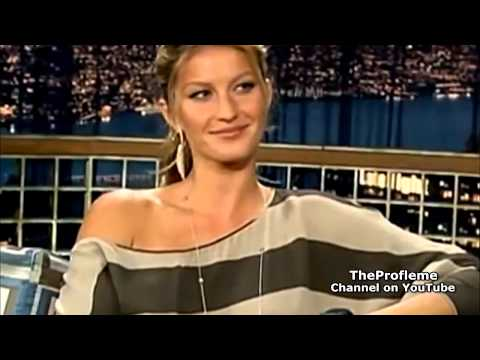 Gisele Bündchen teaches Portuguese to Conan O'Brien