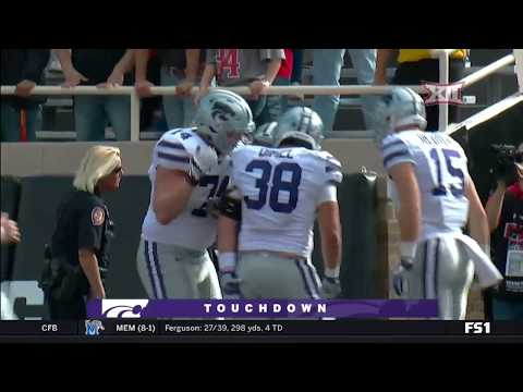 Kansas State vs Texas Tech Football Highlights