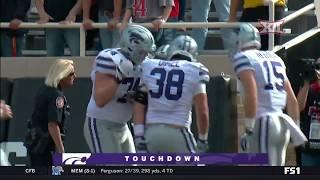 Kansas State vs Texas Tech Football Highlights