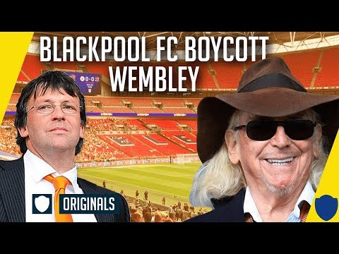 WHY BLACKPOOL HAD TO BOYCOTT WEMBLEY PLAY OFF FINAL - OYSTON OUT