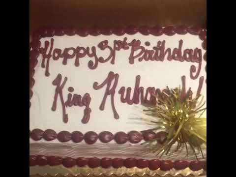 King Ruhamahs 31st Birthday Cake