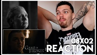 Game Of Thrones : Season 8 Episode 2 REACTION (LOVE U BRIENNE) & Review!