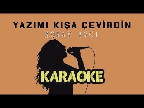 Koray Avcı - Yazımı Kışa Çevirdin (Leylam) - (Karaoke Video)