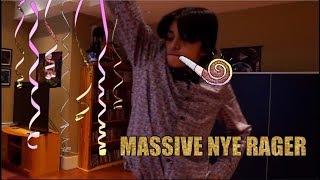 CRAZY NEW YEARS EVE PARTY VLOG!!!!