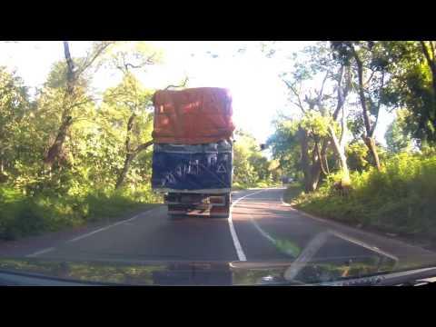 Dash cam thru Baluran Forest, East Java, Indonesia