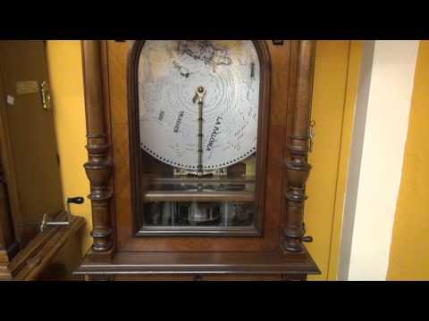 La Paloma - Yradier - Antique Disc Music Box: Polyphon Style 104