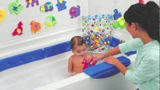 Kids Bathtub Safety Bumper Rails from One Step Ahead