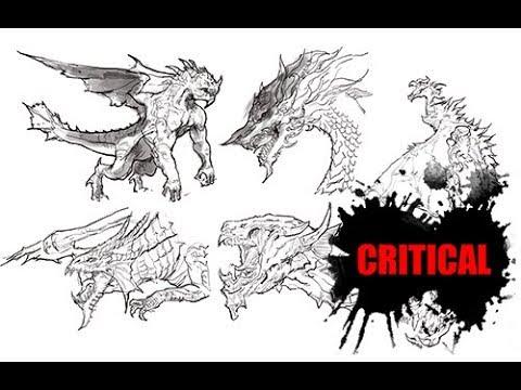 [그리다]드로잉 - 드래곤 - 용 - 그림 그리기 [Grida] Dragon Drawing Speed Drawing