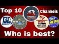 Wrestle chatter Vs game of innings Vs WHG Vs WHK Vs wrestling badshah । Top 10 channels