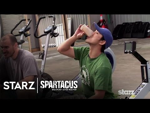 Spartacus: Blood and Sand | Gladiator Camp | STARZ