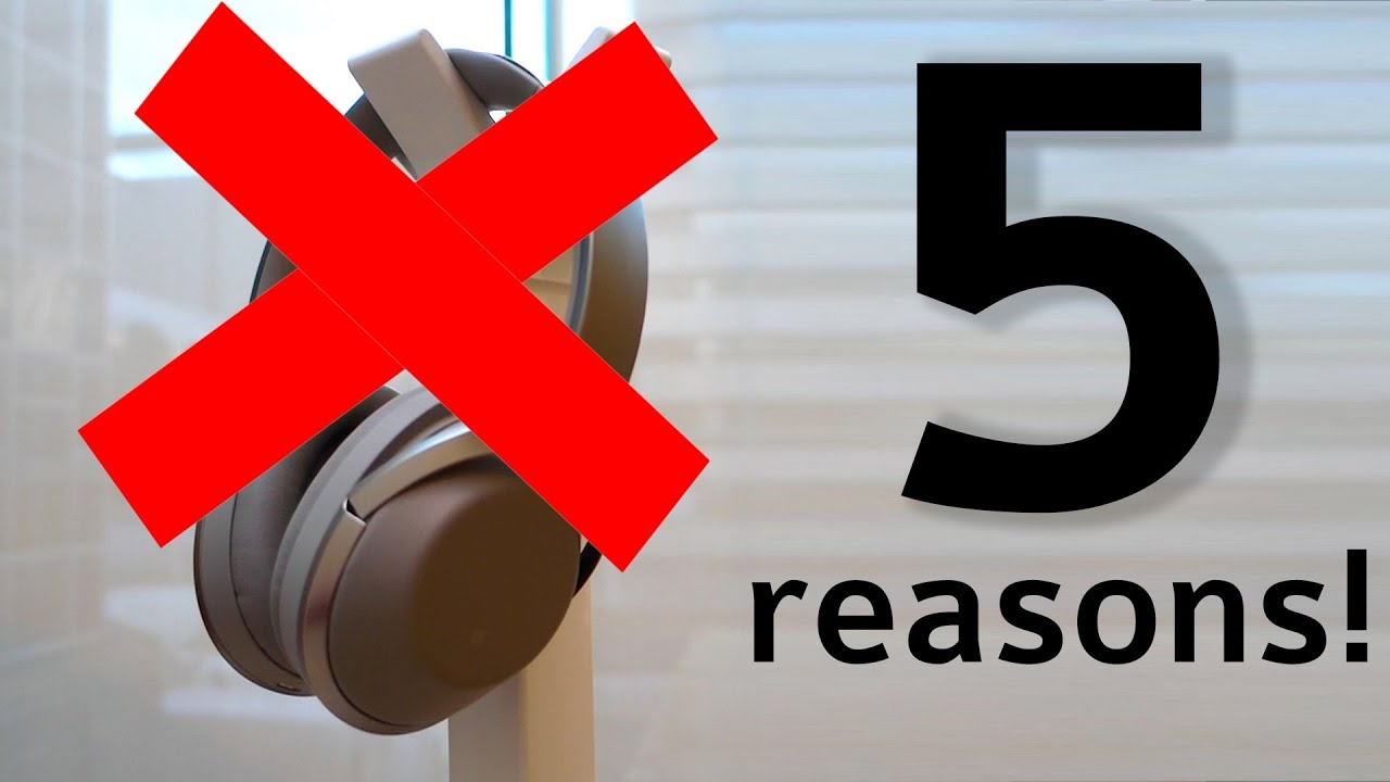 5 reasons not to buy the Sony MDR-1000X (after 6 months) | DHRME #26