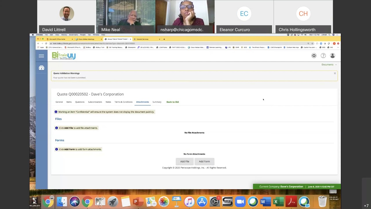 How To Respond To An Rfp Electronically In Bidbuy Youtube