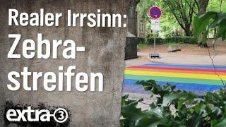 Realer Irrsinn: Entfernte Zebrastreifen für mehr Sicherheit | extra 3 | NDR