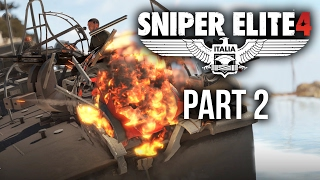 Sniper Elite 4 Walkthrough Part 2 - BITANTI VILLAGE (Mission 2)