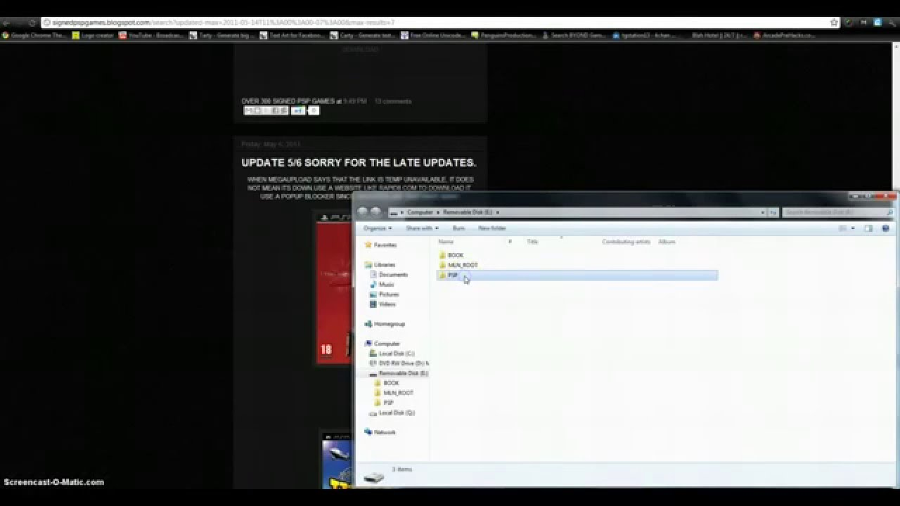 Eboot minecraft download psp