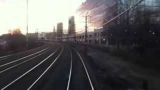 Cab View: On the Northeast Corridor NEC