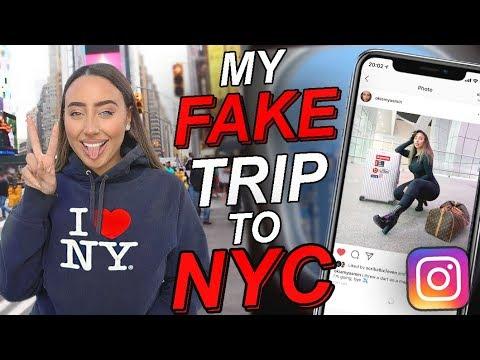 48 HOURS LYING CHALLENGE - FAKE TRIP TO NEW YORK!! ✈️
